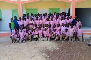 Une nouvelle école à Tenkodogo, au Burkina Faso